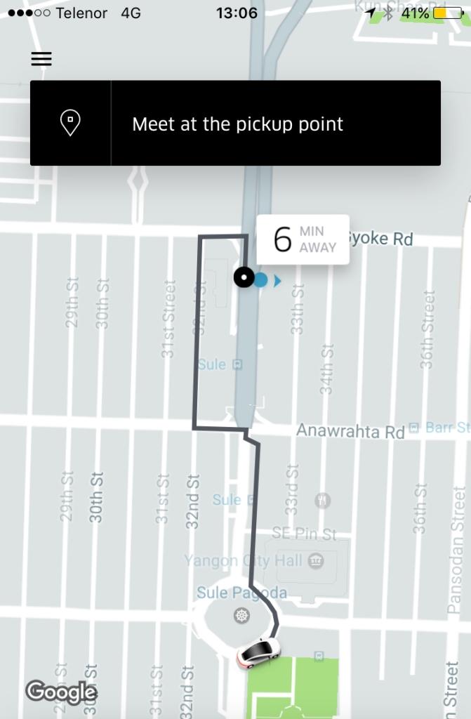 Uber-inapp