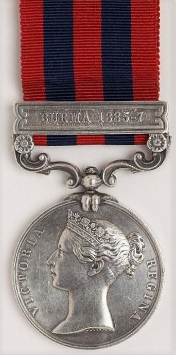 Indian General Service Medal (Obverse)